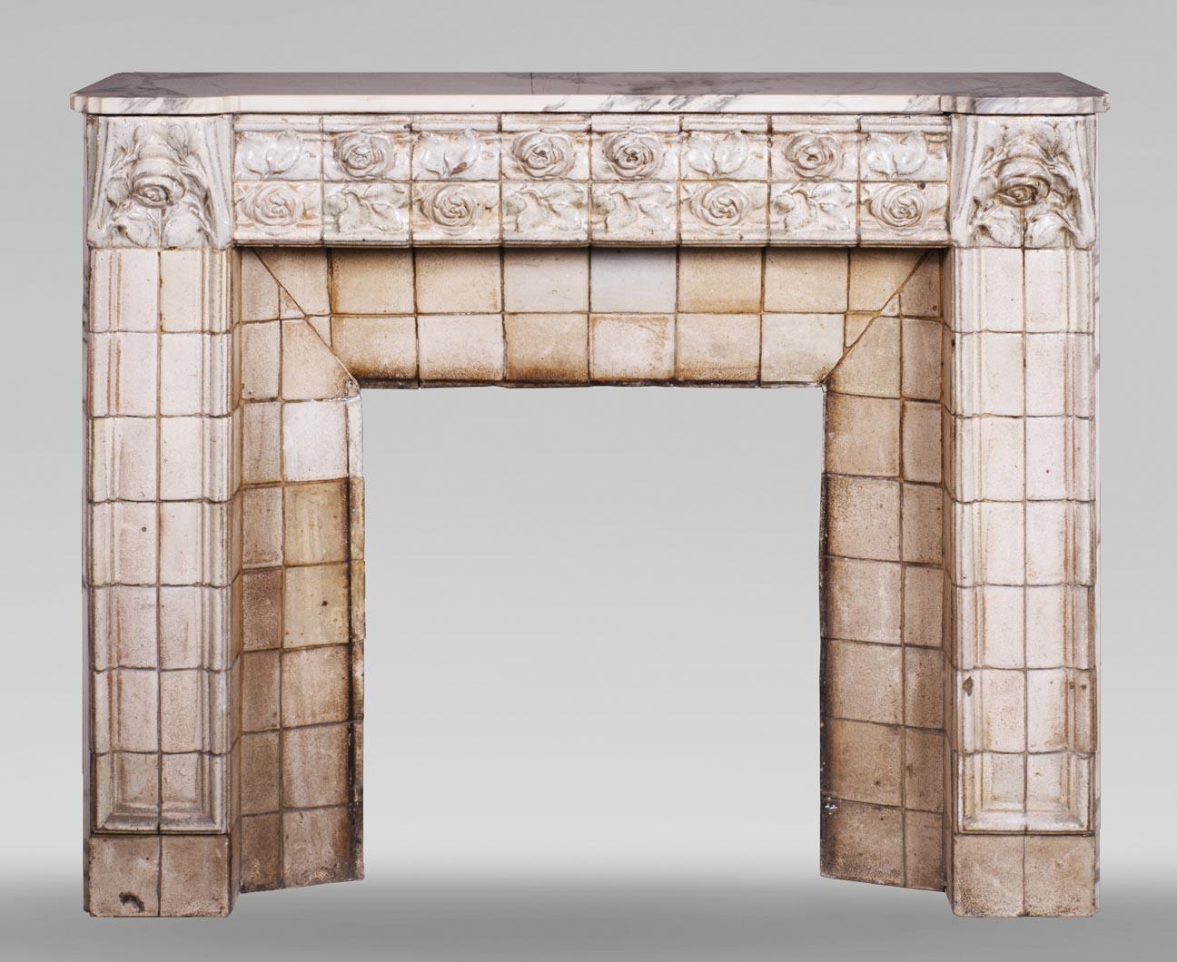 Fourdinois - Exceptionnel meuble-coffre à bijoux